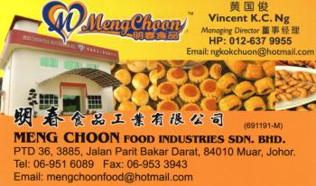 MENG CHOON FOOD INDUSTRIES SDN BHD